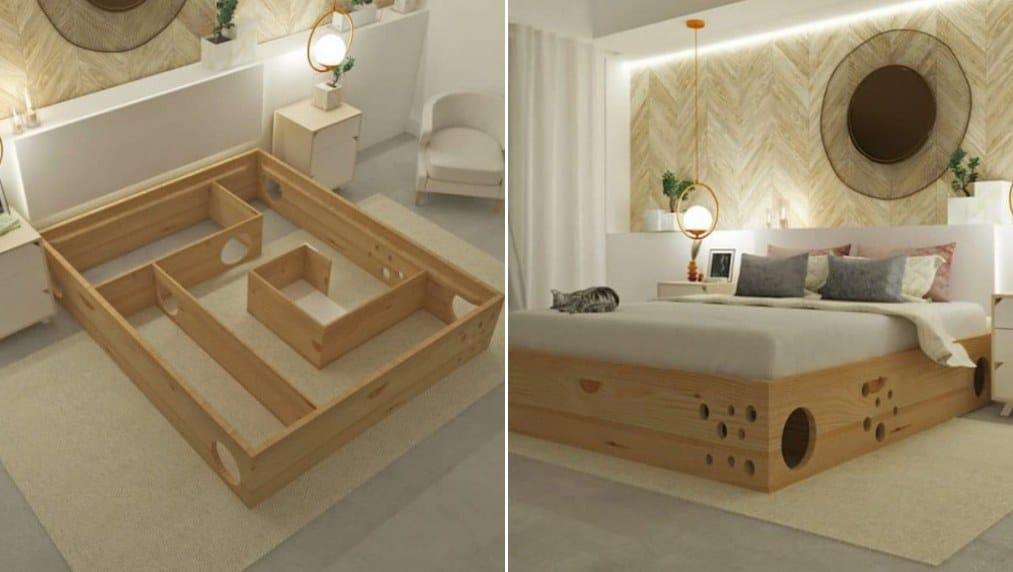 camas para gatos amazon