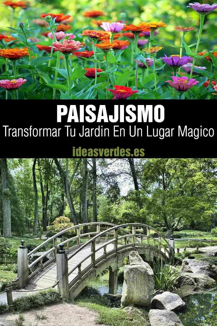 paisajismo en tu jardin